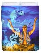 Spirit Of The Eagle Duvet Cover