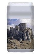 Spissky Hrad Castle Duvet Cover