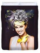 Spring Carnival Beauty Duvet Cover