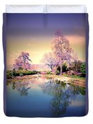 Spring In The Gardens Duvet Cover