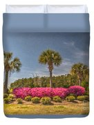 Spring Time In Charleston Duvet Cover