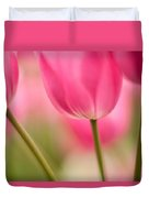 Spring Trio Duvet Cover by Mike Reid