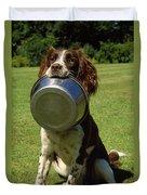 Springer Spaniel Dog Duvet Cover