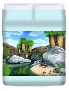 Springtime In The Canyons Duvet Cover