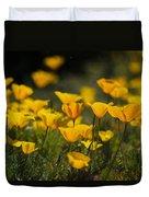 Springtime Poppies  Duvet Cover