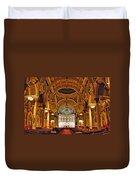 St. Leonard's Church....boston Duvet Cover