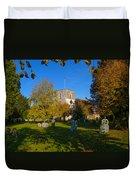 St Marys Church Kintbury Duvet Cover