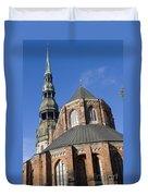 St. Peter's Church Riga Duvet Cover
