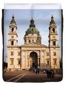 St Stephen's Basilica In Budapest Duvet Cover