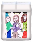 Stage Fright Duvet Cover