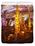 Stalactite Cave Duvet Cover