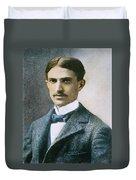 Stephen Crane (1871-1900) Duvet Cover