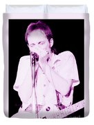 Steve Marriott - Humble Pie At The Cow Palace S F 5-16-80  Duvet Cover