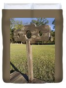 Stockade Ninety Six National Historic Site Duvet Cover