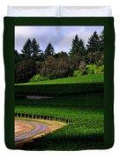 Stoller Vineyard Roads 19050 Duvet Cover
