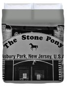 Stone Pony Duvet Cover