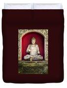 Stone Statue Of Buddha In Bali Indonesia Duvet Cover