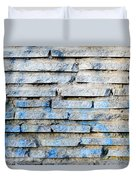 Stone Wall Texture Duvet Cover