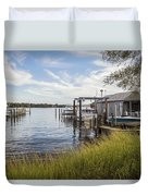 Stoney Creek Marina Duvet Cover