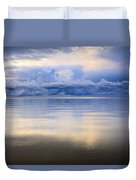 Storm Clouds And Lake Winnipeg At Duvet Cover
