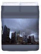 Stormy Singapore Duvet Cover