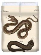 Strange Snakes Duvet Cover