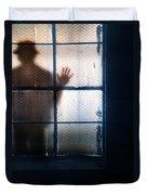 Stranger At The Window Duvet Cover