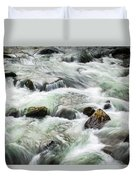 Stream Great Smoky Mountains  Duvet Cover