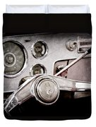 Studebaker Steering Wheel Emblem Duvet Cover
