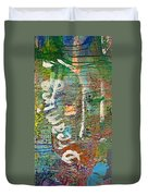 Studio Wall Series Untitled Duvet Cover