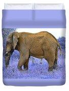 Styled Environment-the Modern Elephant Bull Duvet Cover