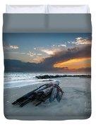Sullivan's Island Sunset Duvet Cover