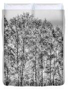Summer Forest Trees Duvet Cover