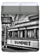 Summit Diner Duvet Cover