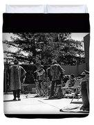 Sun Ra Arkestra Uc Davis Quad 2 Duvet Cover by Lee  Santa