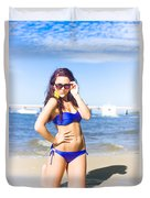 Sun Sand And Sea Leisure Duvet Cover