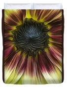 Sunflower In Oils Duvet Cover