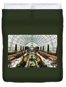 Sunken Garden Como Conservatory Duvet Cover