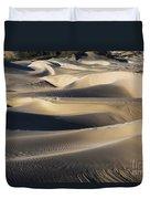 Sunrise At Oceano Sand Dunes Duvet Cover