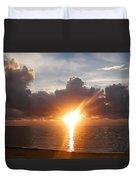 Sunrise In Cancun Duvet Cover