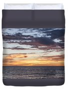 Sunrise Over The Sea Of Cortez Duvet Cover