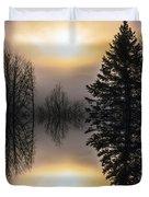 Sunrise-sundown Duvet Cover