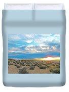 Sunset At Alstrom Point In Glen Canyon National Recreation Area-utah Duvet Cover