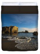 Sunset At Pismo Beach Duvet Cover