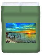 Sunset At The Cape Duvet Cover