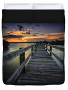 Sunset At Wildcat Cove Duvet Cover
