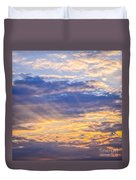 Sunset Sky Duvet Cover by Elena Elisseeva