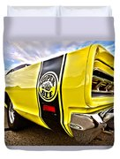 Super Close Super Bee  Duvet Cover