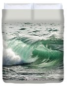 Surf Zone At The Barents Sea Coast Duvet Cover