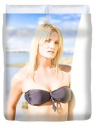 Surfing Leisure And Recreation Duvet Cover